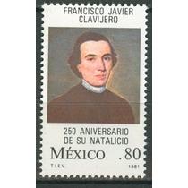 Sc 1243 Año 1981 B1 Francisco Xavier Clavijero