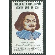 Sc 1192 Año 1979 B1 Correo De La Nueva España Cedula Real