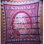 Estampilla Usa 2 Cents Washington, 1910 (muy Raro) #386mason