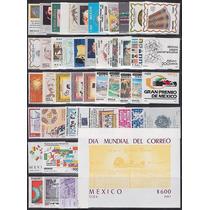 Mexico 1987 Timbres Del Año Conmemorativos Completo Mp Msi