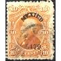 1524 Clásico Hidalgo 3° E México #5479 10c Usado 1879
