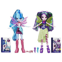 My Girls Little Pony Equestria - Sonata Anochecer Y Aria Bla