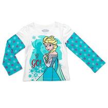 Disney Girls Frozen Blanca Elsa Let It Go! Faux Capas Gráf