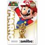 Amiibo Gold Mario Super Smash Bros Wii 3ds Version Japonesa