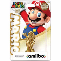 Amiibo Gold Mario Super Smash Bros Wii 3ds Version Japonesa