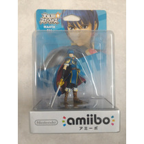 Figura Amiibo Marth Smash Nintendo Wii U 3ds Sellada