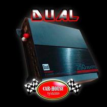 Amplificador Dual Slim Para Woofer Y Bocinas 250 Watts