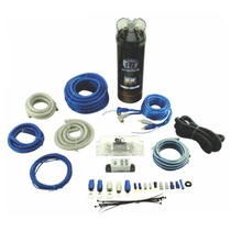 Kit Cal. 4 Con Capacitor Para Ampli. Bullz Audio Ppakc42bl
