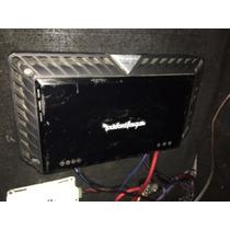 Amplificador Rockford Fosgate T1500d 1500rms Estable 1 Ohm