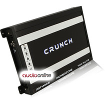 Amplificador Crunch Pzt1400.2 Clase A/b 2 Canales 1400 Watts