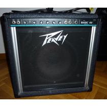 Amplificador De Bajo Peavey Basic 60