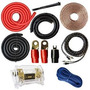 0 Gauge Kit Amp Amplificador Instalación Cableado 1/0 Ga Cab