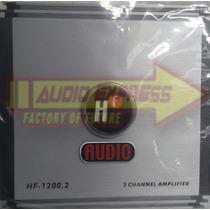 Amplificador Hf Audio 2 Canales 760 Watts Hf1200.2 380x2@2om