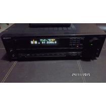 Amplificador Receiver Sony Con Control Remoto