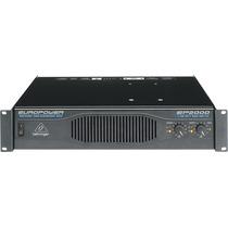 Amplificador De Audio Behringer Ep2000