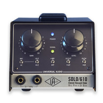 Preamplificador Caja Valvular Solo/610 Universal Audio