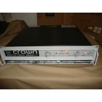 Amplificador Crown Macro Tech 3600vz Original Sin Reparacion