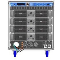 Amplificadores Proel Rack Lineal Axrackm3