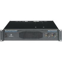 Amplificador Behringer Ep200 Europower 2000 Watt Profesional
