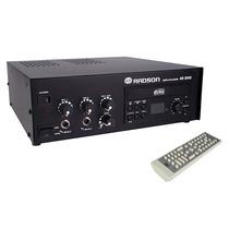 Radson 45 Dvd Amplificador Publidifusion 60 Watts Con Dvd