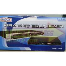 Ecualizador Grafico 15 Bandas 2 Canales Dxr012375