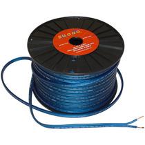 Rollo De Cable Dúplex Para Altavoz Calibre Awg No. 12.