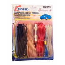Kit De Instalación Profesional Calibre 10 C/cables Y Fusible