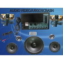 Kit Completo Audio Entrada Usb Sd Mp3 Y Control Remoto $2045