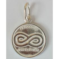 Dije, Medalla De Constelacion En Plata Fina.925