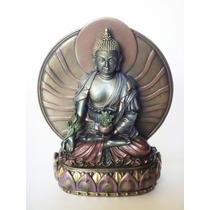 Buda Medicina Figura Escultura Budismo Tibet Envío Gratis