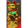 Gato Japonés De La Suerte Maneki Neko 11cm
