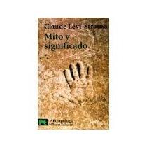 Libro Mito Y Significado