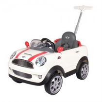 Nuevo Mini Cooper Push Car, Montable Guiado Para Bebe Maa
