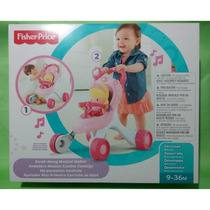 Fisher Price - Andadera Musical Camina Conmigo