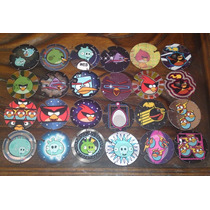Angry Birds Space Lote De 23 Tazos Lcatoy79