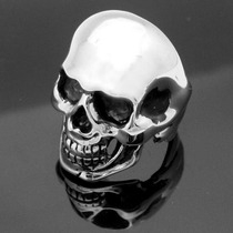 Anillo Cráneo Calavera Plata 925 Muerte Celta Harley Motocic