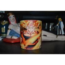 Taza Magica De Goku Supersayayin