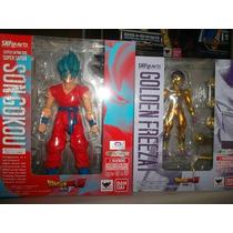 Goku Dios Y Freezer Dragon Ball Z Figuarts Bandai