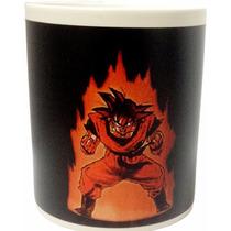 Taza Magica De Goku Personalizada Dragon Ball Mejor Precio