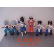 6 Figuras De Dragon Ball Z Miden 9 Cms