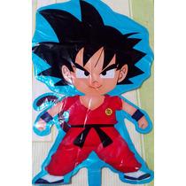 Dragon Ball Z Goku Globo De Figura Metalizado 24 Pulgadas