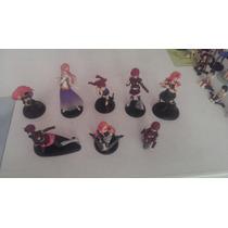 Set De 9 Trading Figures De La Serie Gundam+regalo Sorpresa