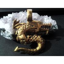 Dije Dragon De Bronce 3 Cms De Diametro (envio Gratis)