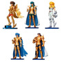 Pack 5 Figura Saint Seiya Agaruma No Myth Cloth