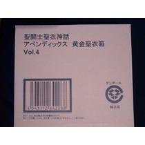 Pandora Box Volumen 4 Appendix Myth Cloth Jp Saint Seiya