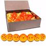 Set De 7 Esferas Del Dragon 7.5 Cm Tamaño Real
