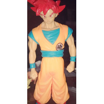 Dragon Ball Supersaiyan Dios Rojo Son Goku Vegeta Banpresto