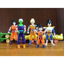 Coleccion De 5 Figuras De Dragon Ball Z Dorda Toys Hm4
