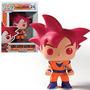 Funko Pop! Anime: Dragonball Z Goku Super Saiyan Dios Vinilo