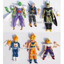 Figura Dragon Ball Z Goku Vegeta Cell Trunks El Mejor Precio